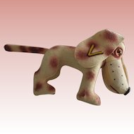 Early Felt  Dog Collegiate  Manufacturing Co. Personality Pet