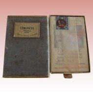 Early Deck of Congress Cards, Unbroken Seal