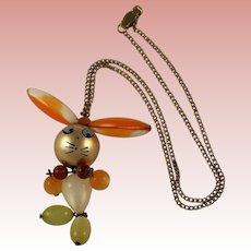 Novelty Rabbit Necklace