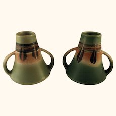 Southwestern Theme Japan Pottery Vases