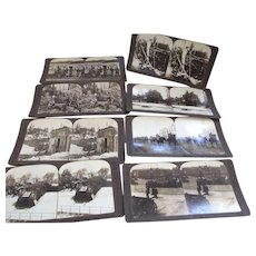 World War One Stereograph Views