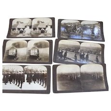 World War One Stereograph Views - Red Tag Sale Item