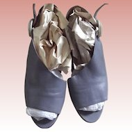 Vintage Lavender Shoes Made In Italy