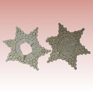 Star Shaped Doilies