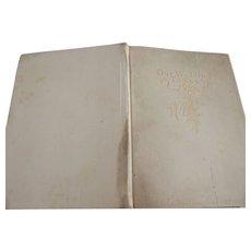 "Edwardian Book ""Our Wedding Token"""