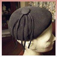 Cute Little Black Hat