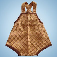 Doll Sunsuit 40's or 50's