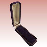 Purple Velvet Stickpin Box