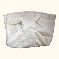 Early Long Baby Gown, Perfect For A Large Baby Doll