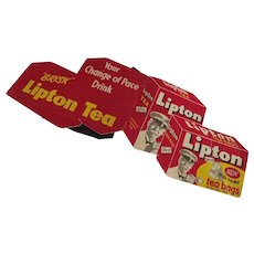 Lipton Tea Sewing Needle Kit