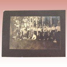 Victorian/Edwardian Botanical Club Group Photo Vermont