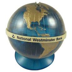 Blue Globe of The World Bank