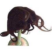 Medium Brown Human Hair Wig