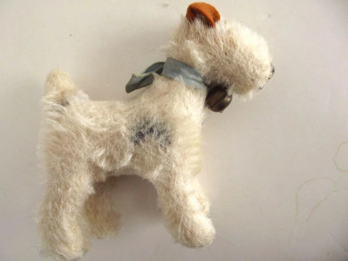Steiff Fox Terrier : From Here To Victorian | Ruby Lane
