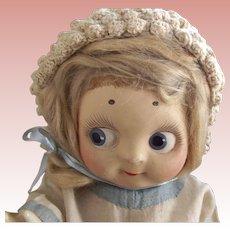 Joel Kallus Baby Bundie With Original Tag Googly eyes