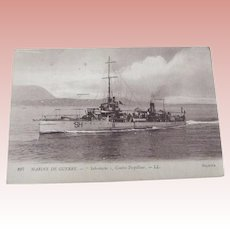 "French War Ship ""Sabrelache"""