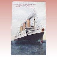 S.S. Imperator Postcard