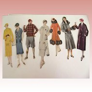 Art Deco Lady Cut-Outs