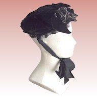 Civil War Mourning Hat