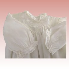 Victorian/Edwardian Baby Gown or Large Baby Doll Gown