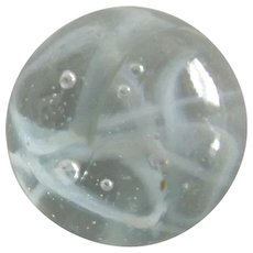 Marble With Swirls and Bubbles