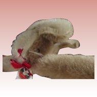 Mutzli Rabbit Face Mohair Hanger