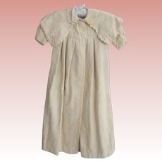 Victorian,Edwardian Long Baby Coat Good For Large Doll