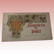 "Postcard Album ""Monasterio de Poblet"""