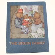 """Children's Book """"The Bruin Family"""", Story About A bear Family"""