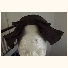 Brown Twill Hat