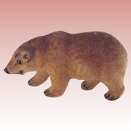 German Flocked Handwork Bear