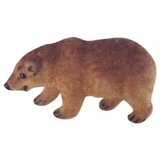 German Flocked Handwork Bear