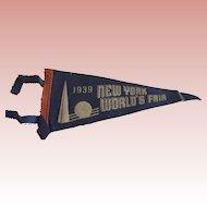 1939 World's Fair Pennant