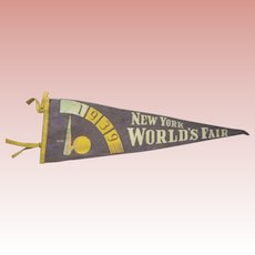 Pennant From The 1939 World's Fair