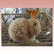 Large Steiff Pom Pom Rabbit