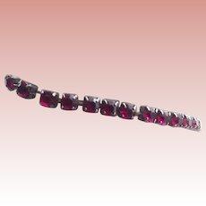 Garnet Hued Expansion Bracelet
