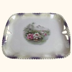 Silesia Pin Tray With Water Lilies