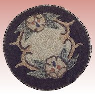 Round Doll House Rug