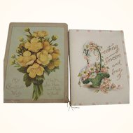 Three Victorian Christmas Cards