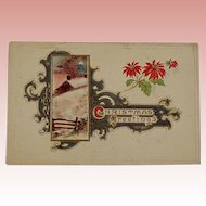 Victorian/Edwardian Postcard Christmas