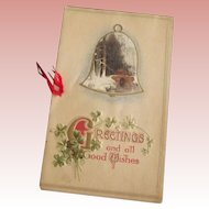 Victorian/Edwardian Christmas Greeting Card