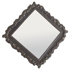 Art Nouveau Frame With Triangle Shape
