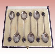Silver Demi Tasse Spoons From England