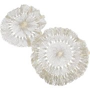 Three Hairpin Lace Doilies