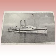 "H.M. Hospitol Ship ""St. George"""