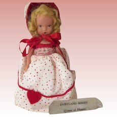 Nancy Ann Storybook Doll Queen of Hearts With Jointed Legs