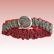 Moosehead Beer Pinback Button On A Garter or Armband
