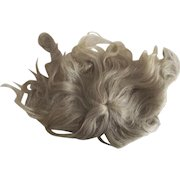 Dark Blonde Mohair Wig With Pate