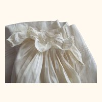 Eyelet Trimmed Gown For Small Baby Doll