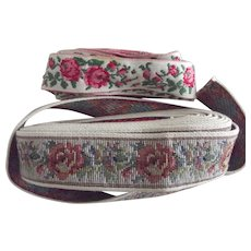 Two Different Floral Trims